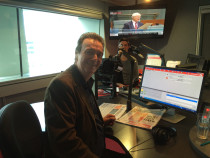 Graeme Goodings with William Goodings on radio 5AA
